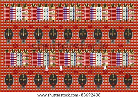 rastafarian - stock photo