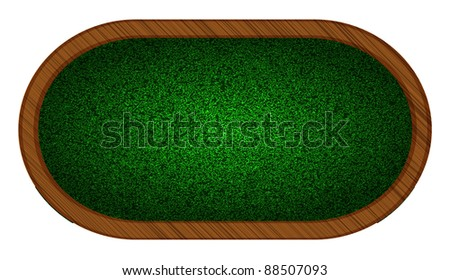 raster version. playing field in poker. Best choice - stock photo