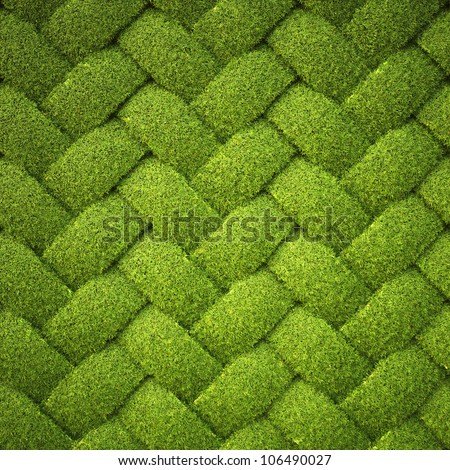 rattan from grass. background texture. - stock photo