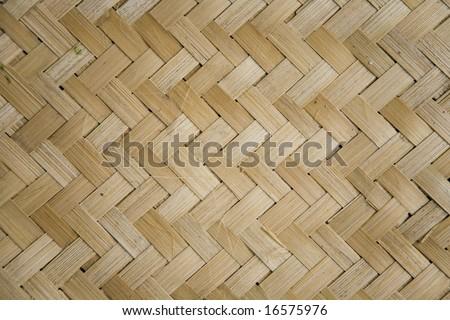 Rattan pattern - stock photo