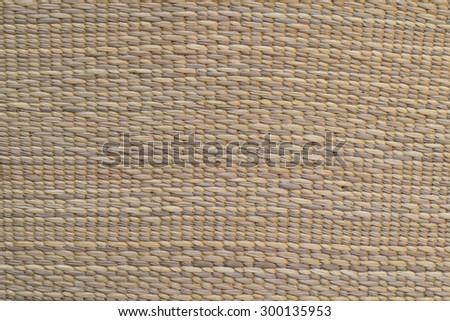 Rattan pattern handmade from nature, basketwork, wicker - stock photo