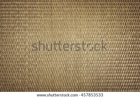 rattan texture material rustic decor brown background - stock photo
