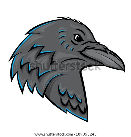 Raven Head - stock photo