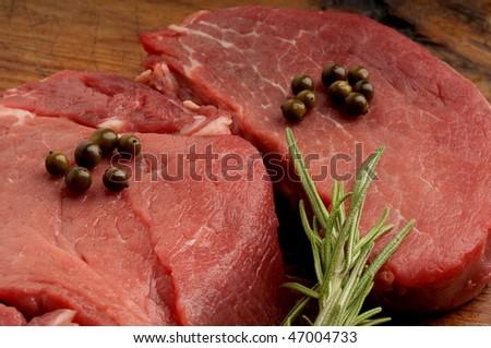 raw tenderloin - stock photo