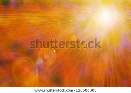 Ray background. - stock photo