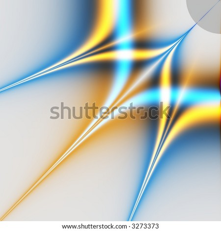 rays of light - stock photo