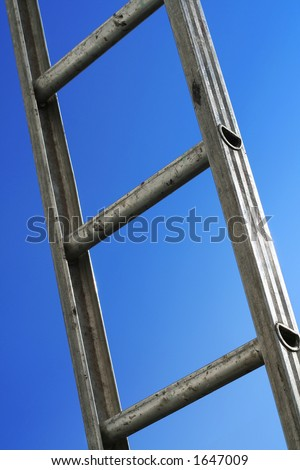 reaching - stock photo