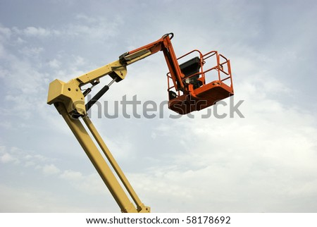 Reaching for the Sky - stock photo