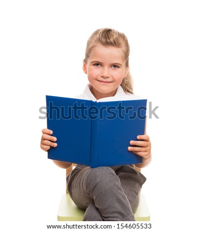 Reading is developing your intellect. You need to read more! - stock photo