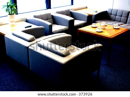 Ready for a morning meeting - stock photo