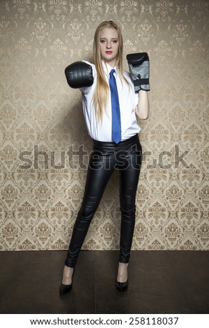 ready for battle - stock photo