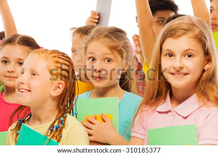 Ready for classes - stock photo