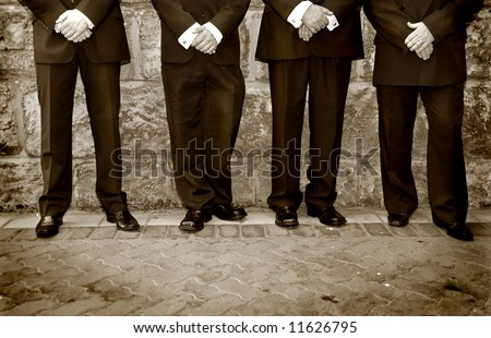 ready for the special occasion - stock photo