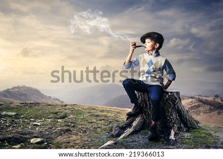 Ready to go hunting  - stock photo