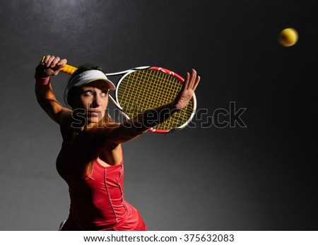 ready to play and hit - stock photo
