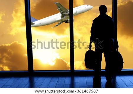 Ready to travel - stock photo