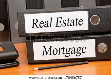 Real Estate and Mortgage - stock photo