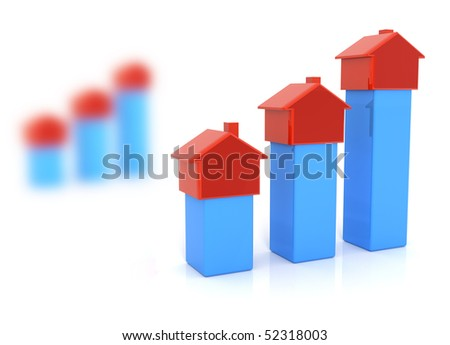 Real estate, finances, rent - stock photo