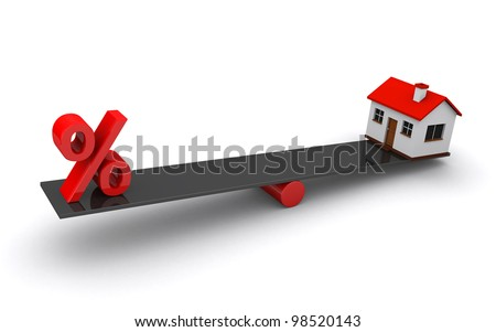 real estate loan - stock photo