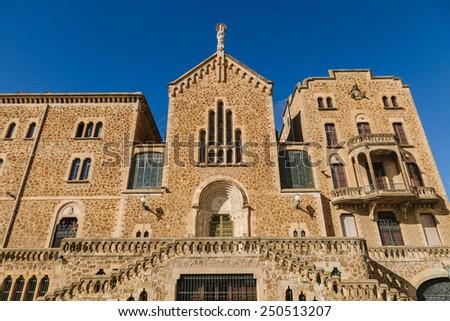 Real Santuario de San Jose de la Montana, Barcelona, Spain - stock photo