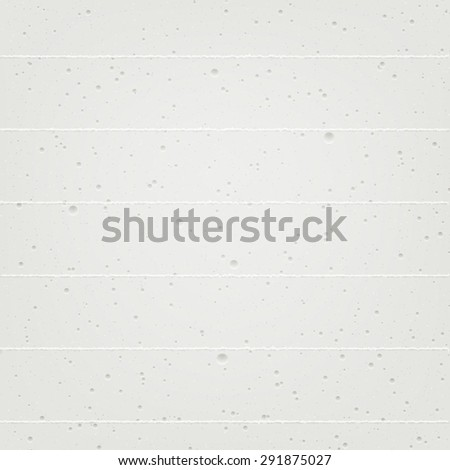 Realistic texture of painted white concrete wall. High quality design element. - stock photo