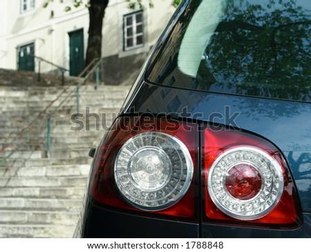 Rear lamp - stock photo