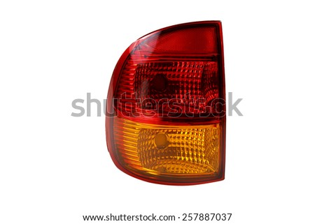 rear taillight - stock photo