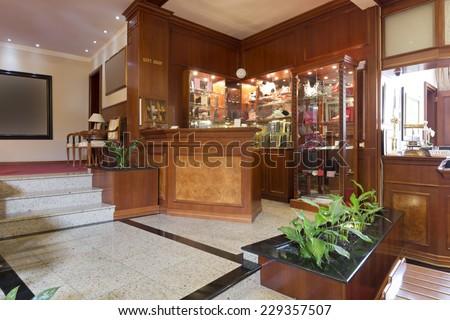 Reception area - stock photo