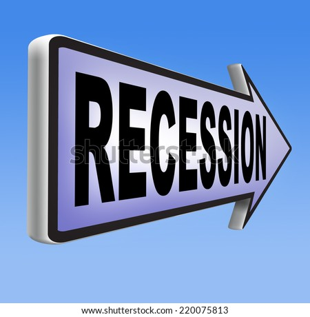 recession  in world economy crisis bank and stock crash economic and financial bank recession market crash    - stock photo