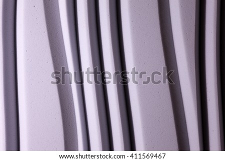 Recording studio sound dampening acoustical foam colored - stock photo