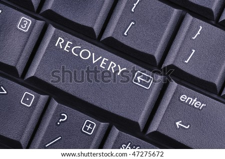 recovery - stock photo