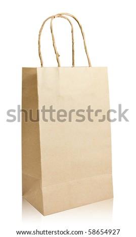 Recycle bag - stock photo