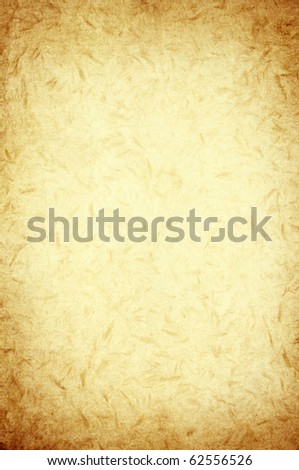 recycle fiber pattern on vintage paper - stock photo