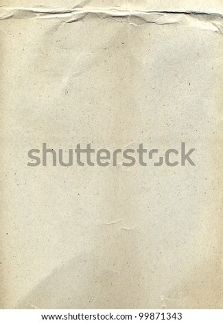 Recycle paper texture use for background - stock photo