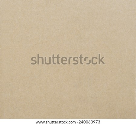 Recycled cardboard textured - stock photo
