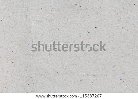 recycled paper texture or background, Macro closeup for design work - stock photo