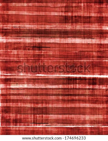 Red Abstract Art Background - stock photo