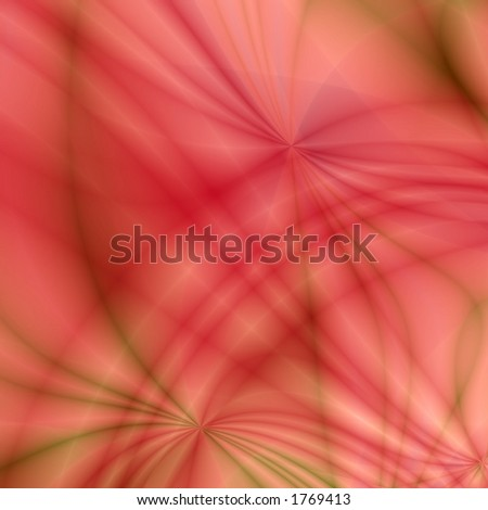 Red abstract background - stock photo