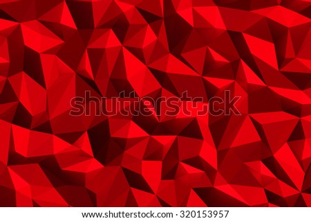 Red abstract background texture - stock photo
