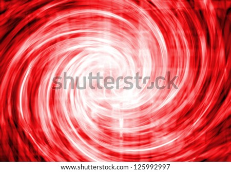 Red abstract background- vortex - stock photo