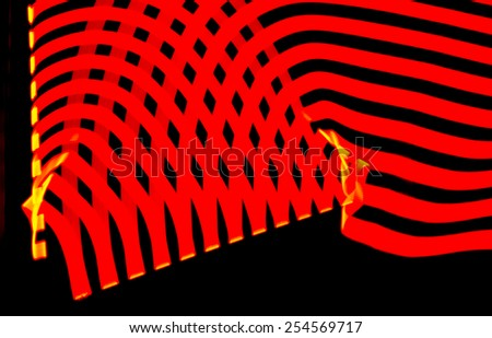 Red Abstract Light, great for use as a background. - stock photo