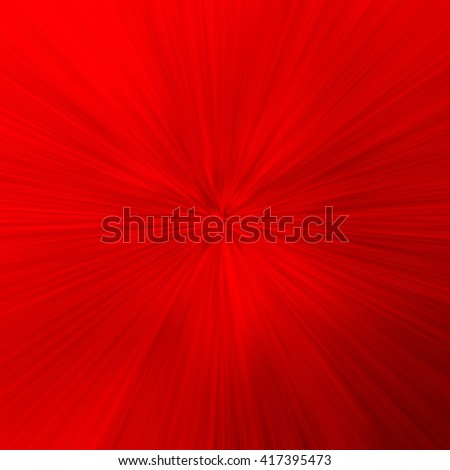Red Abstract Zoom Motion background - stock photo