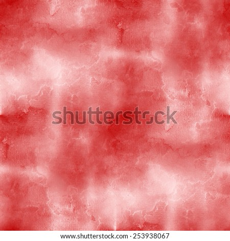 red and white wall, rough texture, grunge background, seamless pattern - stock photo