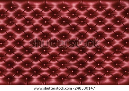 red background of square shape, texture - stock photo