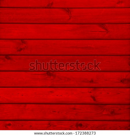red background wood texture - stock photo