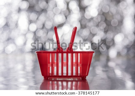Red Basket - stock photo
