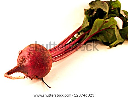 Red Beet - stock photo