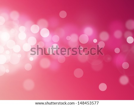 red bokeh abstract light backgrounds - stock photo