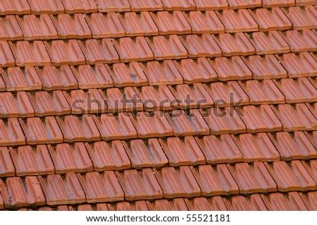 Red brick - stock photo