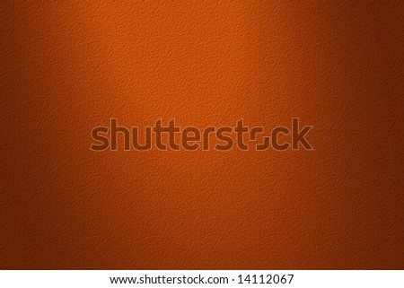 Red bumpy leather texture for background.  Spotlight coming from above and a little darker around the edges. - stock photo